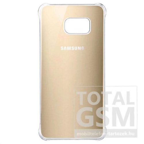 Samsung G928 Galaxy S6 Edge Plus Glossy Arany-Átlátszó Kemény Gyári Tok