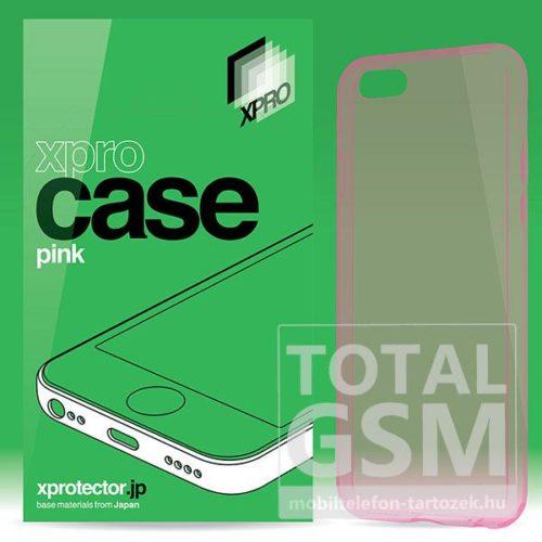 Samsung J510 Galaxy J5 (2016) rózsaszín Ultra Slim 0.33mm szilikon tok XPRO