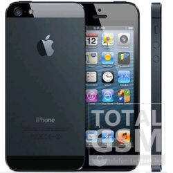 Apple iPhone 5 32GB fekete mobiltelefon