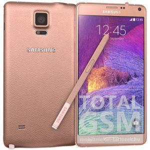 Samsung N910F Galaxy Note 4 32GB Bronz mobiltelefon
