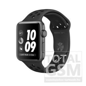 Apple Watch Nike+ S2 38mm asztroszürke alumíniumtok antracit-fekete Nike sportszíjjal