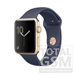 Apple Watch Series 1 42mm arany színű alumíniumtok éjkék sportszíjjal