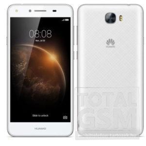 Huawei Y6-2 Compact fehér mobiltelefon