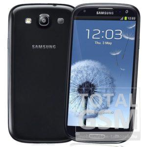 Samsung I9300 Galaxy S3 64GB fekete mobiltelefon