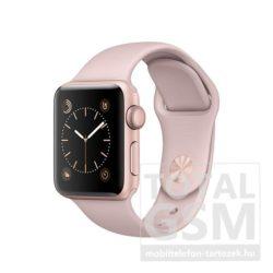 Apple Watch Series 1 42mm rozéarany színű alumíniumtok rózsakvarc színű sportszíjjal