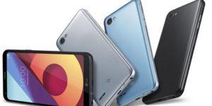 LG Q6 Új Kártyafüggetlen Mobiltelefon www.mobiltelefon-tartozek.hu