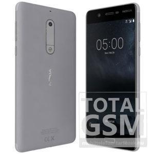Nokia 5 ezüst mobiltelefon