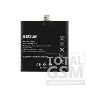 Astrum AHTD816 HTC Desire 816 kompatibilis akkumulátor 2600mAh