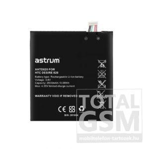 Astrum AHTD820 HTC Desire 820 kompatibilis akkumulátor 2600mAh