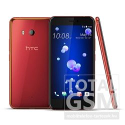 HTC U11 64GB Dual Sim piros mobiltelefon