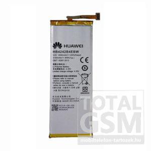 Huawei Honor 6 HB4242B4EBW gyári akkumulátor 3000mAh