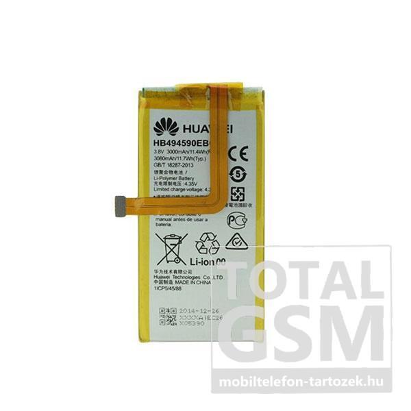 Huawei Honor 7 HB494590EBC gyári akkumulátor 3000mAh