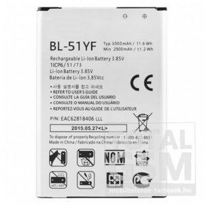 LG G4 H815 BL-51YF gyári akkumulátor 3000mAh