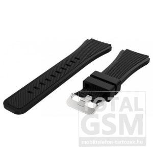 Samsung Galaxy Gear S3 Fekete Szilikon Óraszíj