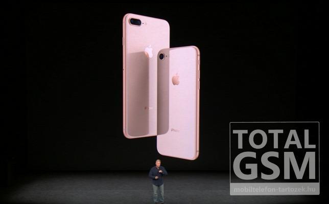 Apple iPhone 8 és  iPhone 8 Plus Új Kártyafüggetlen Mobiltelefon www.mobiltelefon-tartozek.hu
