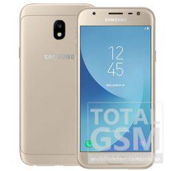 Samsung J330F Galaxy J3 (2017) LTE 16GB Dual SIM arany mobiltelefon