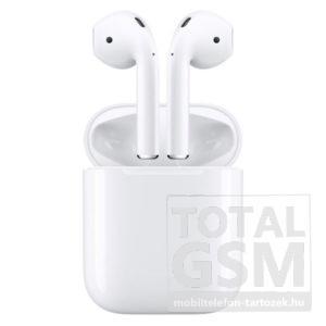 Apple AirPods vezeték nélküli fülhallgató fehér