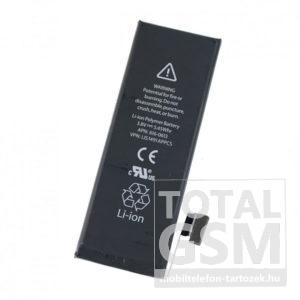 Apple iPhone 5 utángyártott APN független akkumulátor 1440mAh