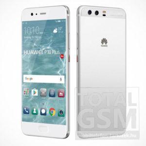 Huawei P10 Plus LTE 128GB (6GB RAM) ezüst mobiltelefon