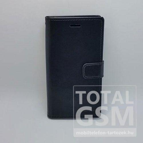 Samsung A520F Galaxy A5 (2017) Goospery Blue MoonNotesz Bőr Flip Tok Fekete / Black