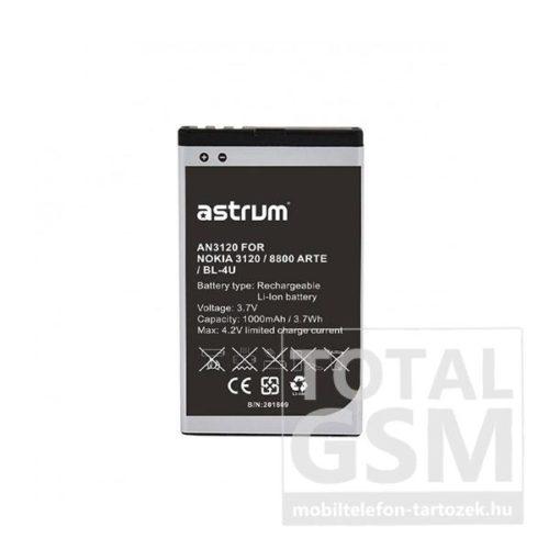 Astrum AN3120 Nokia C5-03 BL-4U kompatibilis akkumulátor 1000mAh