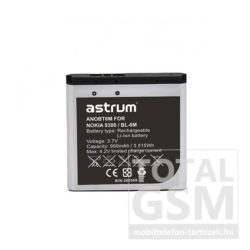 Astrum AN9300 Nokia 9300 / N73 BP-6M kompatibilis akkumulátor 1000mAh