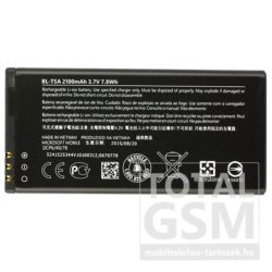 Microsoft Lumia 540 BL-T5A gyári akkumulátor 2100mAh