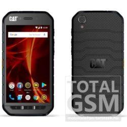 Caterpillar CAT S31 Dual Sim fekete mobiltelefon