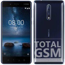 Nokia 8 64GB fényes kék mobiltelefon