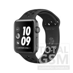 Apple Watch Nike+ S3 42mm Asztroszürke alumíniumtok antracit–fekete Nike sportszíjjal MQL42