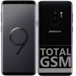 Samsung G965F Galaxy S9 Plus Dual Sim 64GB fekete mobiltelefon
