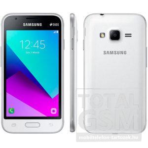 Samsung J106H Galaxy J1 Mini Prime Dual Sim fehér mobiltelefon