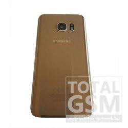 SamsungG935 Galaxy S7 Edge Arany Gyári Akkufedél Hátlap Bontott