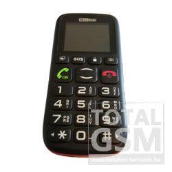 Maxcom MM428BB Dual Sim Fekete Piros Mobiltelefon