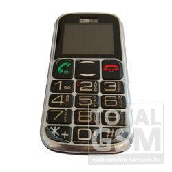 Maxcom MM461BB Fekete Ezüst Mobiltelefon