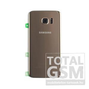 Samsung G935 Galaxy S7 Edge Arany Gyári Akkufedél Hátlap