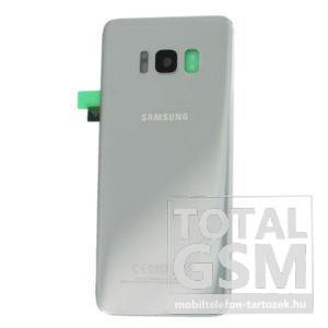 Samsung G950 Galaxy S8 Ezüst Gyári Akkufedél Hátlap