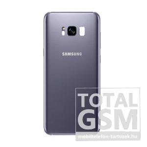 Samsung G955 Galaxy S8 Plus Orchid Grey Gyári Akkufedél Hátlap
