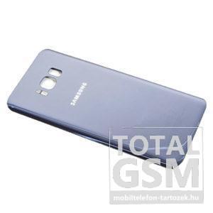 SamsungG955 Galaxy S8 Plus Orchid Grey Gyári Akkufedél Hátlap Bontott