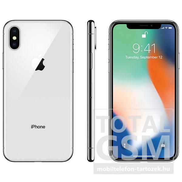 Apple iPhone X 64GB Fehér / Silver Mobiltelefon