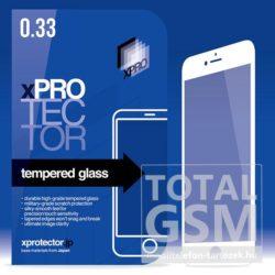 Apple iPhone 7 Plus / 8 Plus Tempered Glass 0.33 Silicone 3D White (FG) kijelzővédő