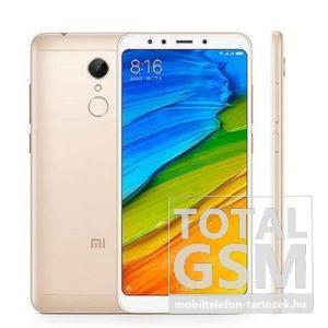 Xiaomi Redmi 5 Plus Dual Sim 32GB 3GB RAM Arany Mobiltelefon
