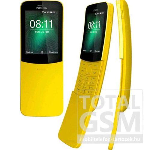 Nokia 8110 Dual Sim Banán Sárga Mobiltelefon
