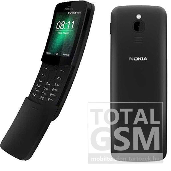 Nokia 8110 Dual Sim Fekete Mobiltelefon