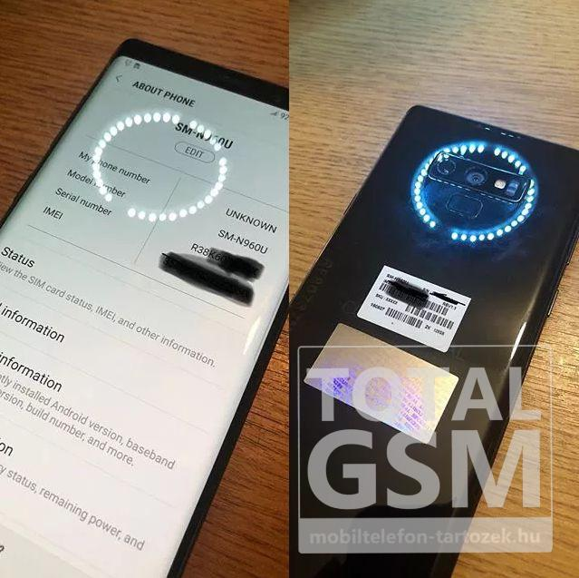 Samsung Galaxy Note 9 Dual Aperture Új Kártyafüggetlen Mobiltelefon www.mobiltelefon-tartozek.hu