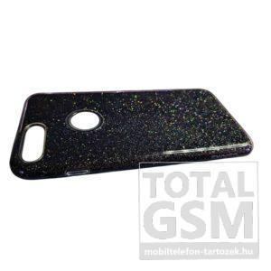 Apple iPhone 7 / 8 USAMS Fekete Csillogós Szilikon Tok