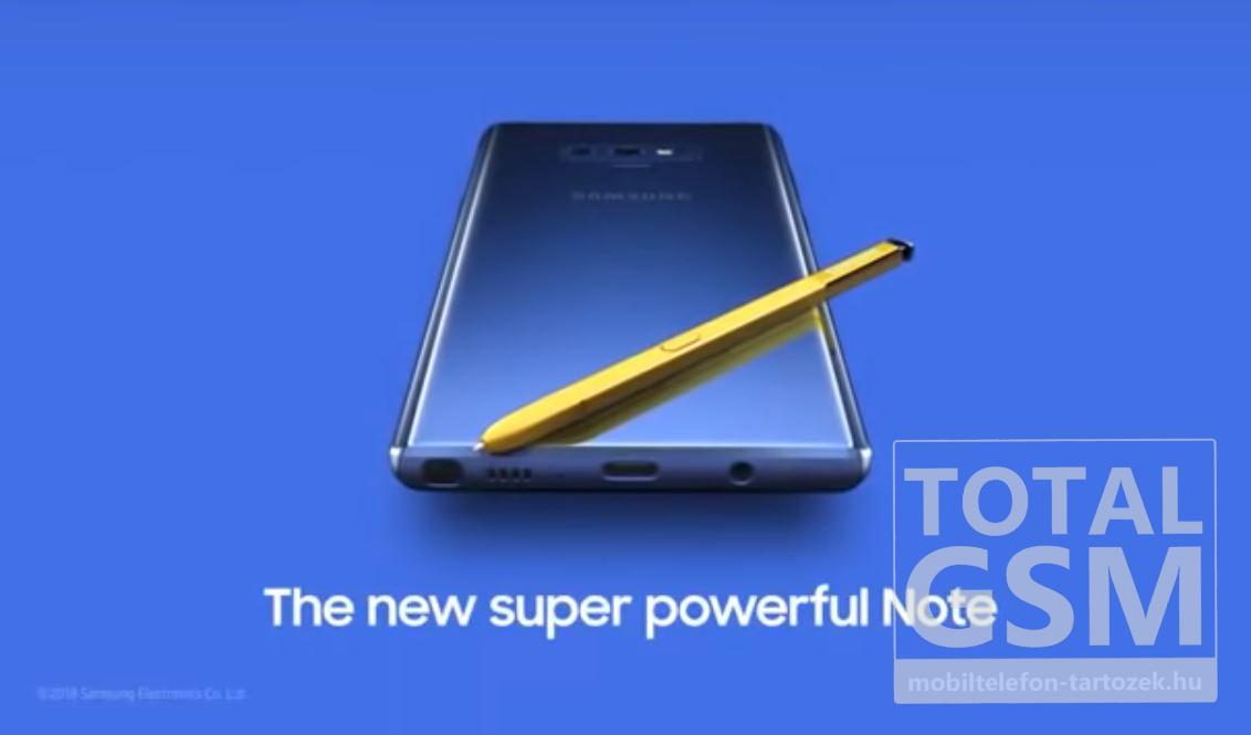 Galaxy Note 9 Új Kártyafüggetlen Mobiltelefon www.mobiltelefon-tartozek.hu