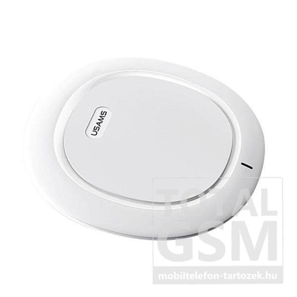 USAMS CD29 Sedo Wireless Vezeték Nélküli Gyorstöltő Fehér