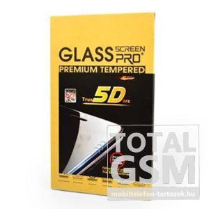 Apple iPhone 6 / 6S Fekete 5D Képernyővédő (Üvegfólia)