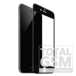 Apple iPhone 6 / 6S Fekete Képernyővédő (Üvegfólia)